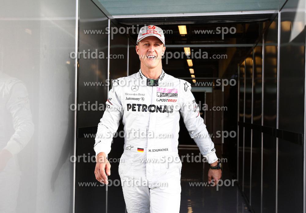 FORMEL 1: GP von Abu Dhabi, Abu Dhabi, 10.11.2011<br /> Michael Schumacher (GER, Mercedes GP)<br /> &Atilde;ƒ&acirc;€š&Atilde;'&Acirc;&copy; pixathlon<br /> ITALY AND FRANCE OUT! *** Local Caption *** +++ www.hoch-zwei.net +++ copyright: HOCH ZWEI +++