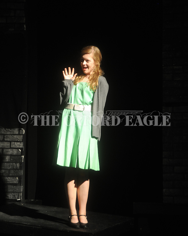 "Oxford High students rehearse for the play ""Blood Brothers"" in Oxford, Miss. on Tuesday, September 21, 2010."