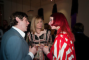 SIMON HENWOOD; ROISIN MURPHY; JULIE VERHOEVEN, The Royal College of Art Fashion Gala. Kensington Gore. London. 11 June 2009.