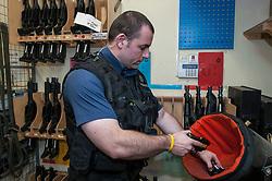 Police armoury
