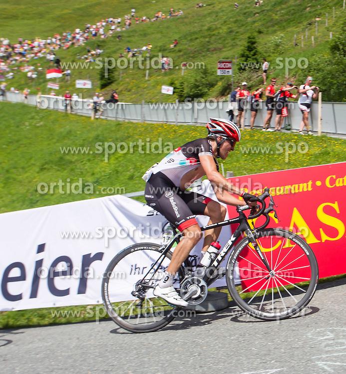 02.07.2012, Kitzbueheler Horn, AUT, 64. Oesterreich Rundfahrt, 2. Etappe, Innsbruck - Kitzbueheler Horn, im Bild // during the 64rd Tour of Austria, Stage 2, from Innsbruck to the Kitzbuehler Horn, Kitzbuehel, Austria on 2012/07/02. EXPA Pictures © 2012, PhotoCredit: EXPA/ Juergen Feichter