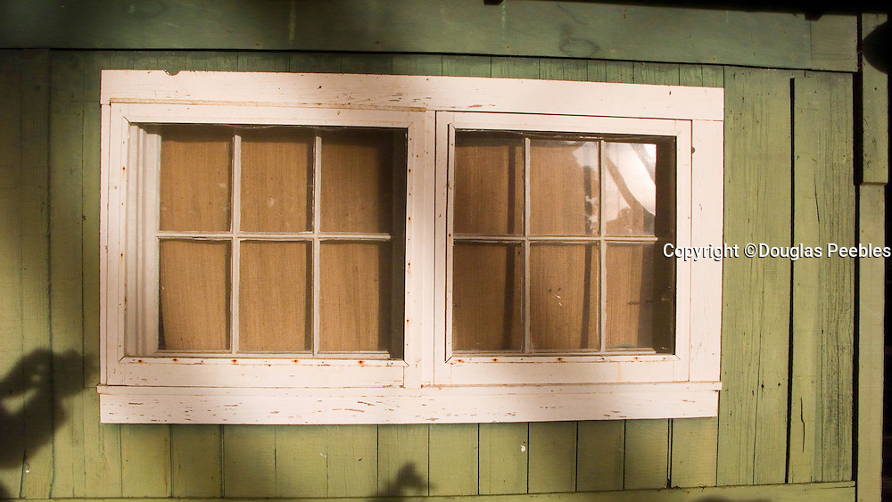Window, Kokee Cabins, Waimea Canyon, Kauai, Hawaii