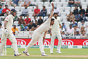 Jasprit Bumrah of India bowling during the 3rd International Test Match 2018 match between England and India at Trent Bridge, West Bridgford, United Kingdon on 21 August 2018.