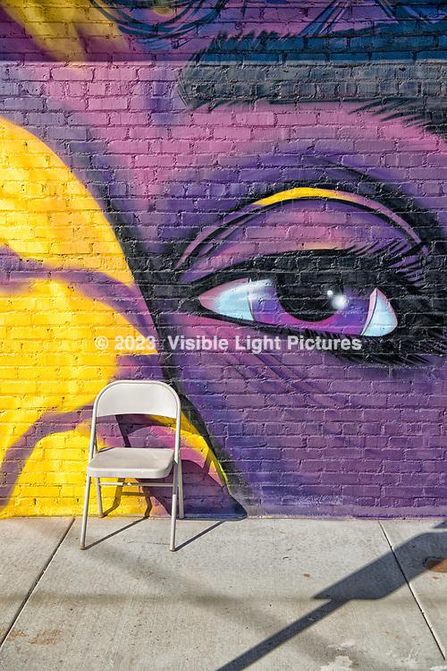 Purple Eye Mural