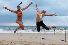 20140815 NED: NK Beachvolleybal 2014 Kwalificaties, Scheveningen
