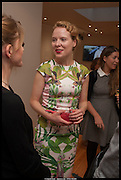TATIANA KOSTANIAN, Born in the USSR, Design exhibition opening. Gallery Elena Shchukina, Beauchamp Place, Knightsbridge. London. 15 September 2014.