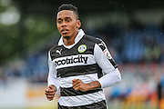 Forest Green Rovers Keanu Marsh-Brown(7) during the The FA Cup 4th qualifying round match between Sutton United and Forest Green Rovers at Gander Green Lane, Sutton, United Kingdom on 15 October 2016. Photo by Shane Healey.