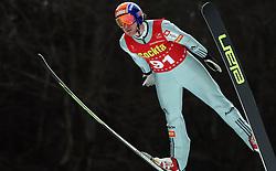 Rok Urbanc of  SK Triglav at Slovenian National Championship in Ski Jumping on February 12, 2008 in Kranj, Slovenia . (Photo by Vid Ponikvar / Sportal Images).