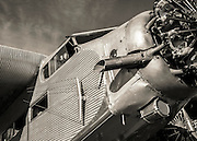 Ford Tri-Motor at the 2012 Reno Air Races.