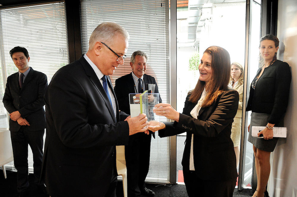 20150603- Brussels - Belgium - 03 June2015 - European Development Days - EDD  - Neven Mimica DEVCO and Melinda Gates  BMFG © EU/UE