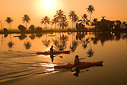 Paddling the Backwaters of Kerala, South India