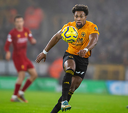WOLVERHAMPTON, ENGLAND - Thursday, January 23, 2020: Wolverhampton Wanderers' Adama Traoré during the FA Premier League match between Wolverhampton Wanderers FC and Liverpool FC at Molineux Stadium. (Pic by David Rawcliffe/Propaganda)