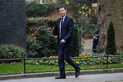 © Licensed to London News Pictures. 09/01/2018. London, UK. Attorney General Jeremy Wright arrives on Downing Street for the first meeting of the Cabinet after Prime Minister Theresa May's reshuffle. Photo credit: Rob Pinney/LNP