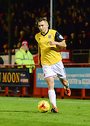 Northampton  midfielder Lawson D'Ath on the ball during the Sky Bet League 2 match between Crawley Town and Northampton Town at the Checkatrade.com Stadium, Crawley, England on 24 November 2015. Photo by David Charbit.