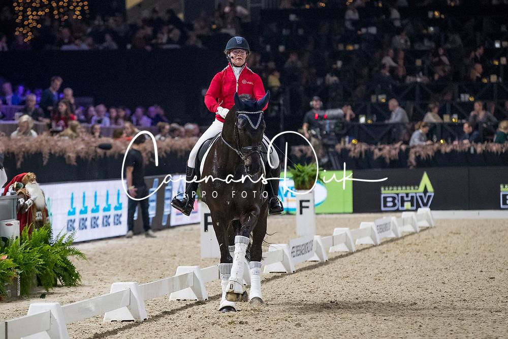 Vanvinckenroye Hélène, BEL, Millenica<br /> Jumping Mechelen 2019<br /> © Hippo Foto - Sharon Vandeput<br /> 29/12/19