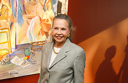Actress LESLIE CARON at a private view of artist Damian Elwes work 'Artists Studios' held at Scream, 34 Bruton Street, London W1 on 29th June 2006.<br />