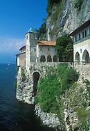 The Santa Catherina Monastery on Lake Maggiore<br /> Italy