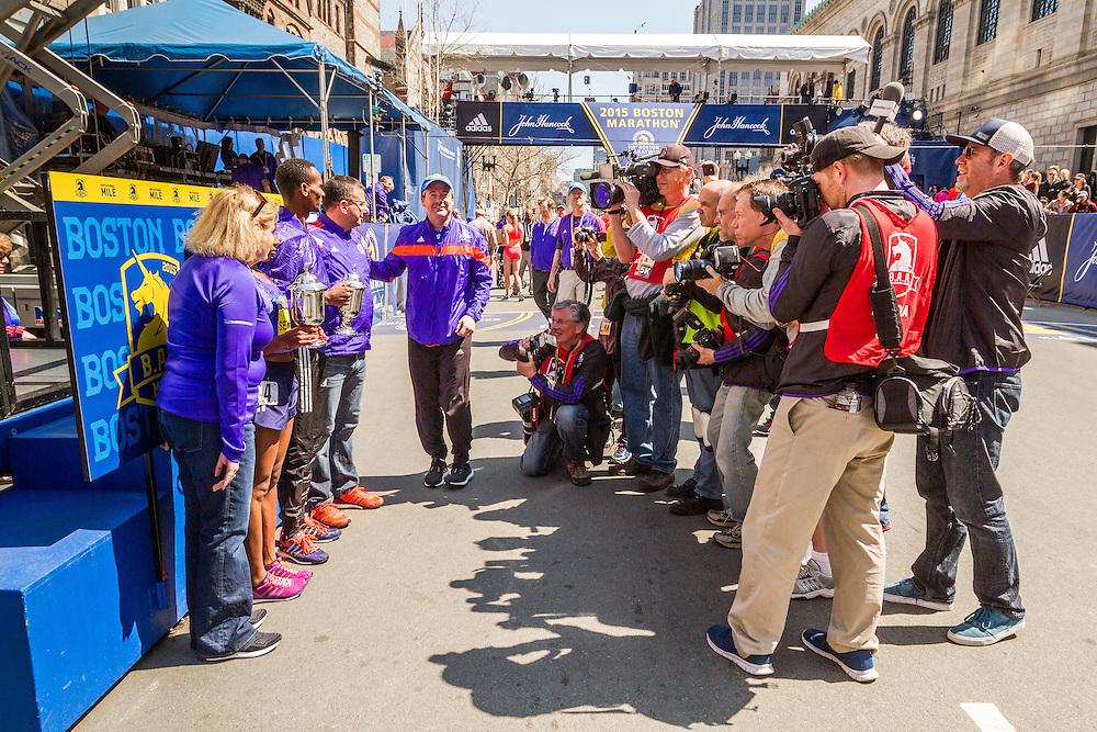 Boston Marathon: BAA Invitational Mile, winners