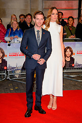 Luke Treadaway and Ruta Gedmintas arriving at the World Premiere of A Street Cat Named Bob at the Curzon Mayfair on November 3 2016 in London. EXPA Pictures &copy; 2016, PhotoCredit: EXPA/ Avalon/ Famous<br /> <br /> *****ATTENTION - for AUT, SLO, CRO, SRB, BIH, MAZ, SUI only*****