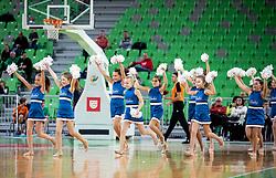 Mini Ladies perform during basketball match between KK Cedevita Olimpija and KK Igokea in Round #14 of ABA League 2019/20, on January 5, 2020 in Arena Stozice, Ljubljana, Slovenia. Photo by Vid Ponikvar/ Sportida