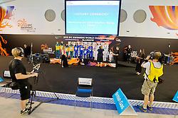 Team Australia, Team GB, Team Russia AUS, GBR, RUS at 2015 IPC Swimming World Championships -  Women's 4x100m Medley Relay 34PTS