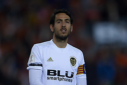 February 28, 2019 - Valencia, Valencia, Spain - Daniel Parejo of Valencia during the Copa del Rey Semi Final match second leg between Valencia CF and Real Betis Balompie at Mestalla Stadium in Valencia, Spain on February 28, 2019. (Credit Image: © Jose Breton/NurPhoto via ZUMA Press)