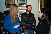 SEB PATANE; MAUREEN PALEY No New Thing Under the Sun. Royal Academy. Piccadilly. London. 20 OCTOBER 2010. -DO NOT ARCHIVE-© Copyright Photograph by Dafydd Jones. 248 Clapham Rd. London SW9 0PZ. Tel 0207 820 0771. www.dafjones.com.