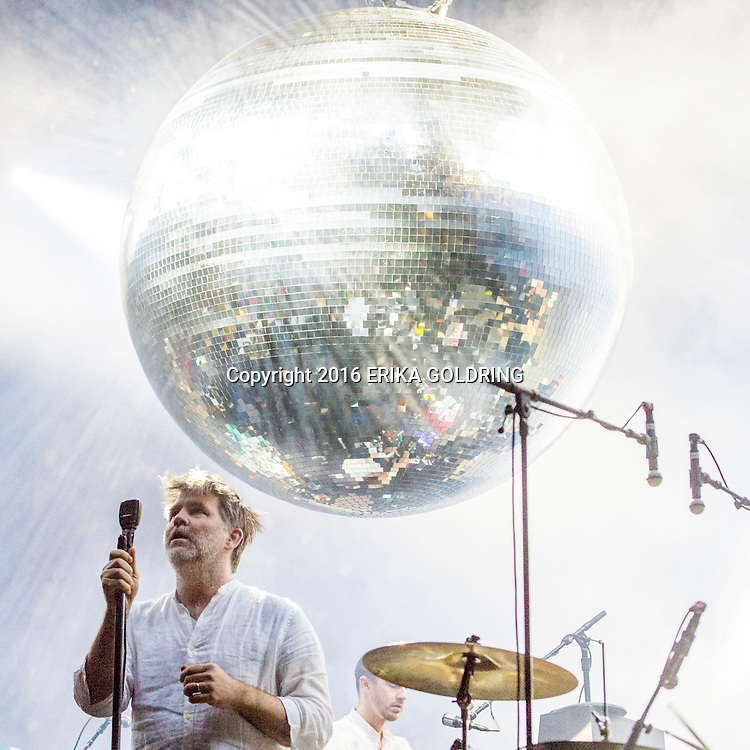 James Murphy of LCD Soundsytem performs at Bonnaroo Music Festival on June 10, 2016, in Manchester, TN.