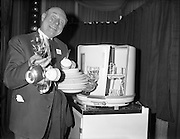 Electrolux introduced the 'Dishmaid', promising that 'with its powerful jets and rotating action, it will cope with the washing-up for 4-5 people while you enjoy leisure or get on with other work about the home.'..19.07.1961