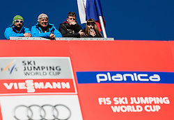 Spectators at the top of the hill during Ski Flying Hill Team Competition at Day 3 of FIS Ski Jumping World Cup Final 2016, on March 19, 2016 in Planica, Slovenia. Photo by Vid Ponikvar / Sportida