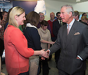 19/05/2015   HRH The Prince of Wales on his visit to the Marine Institute where he met staff.  Photo: Andrews Downes XPOSURE