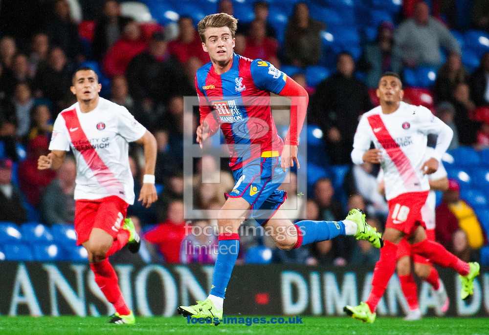 Patrick Bamford of Crystal Palace  during the Capital One Cup match at Selhurst Park, London.<br /> <br /> Picture by Jack Megaw/Focus Images Ltd +44 7481 764811<br /> 23/09/2015