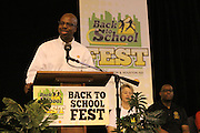Second Annual Back to School Fest on August 11, 2012l.