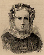 Mary Carpenter (1807-77) English philanthropist born at Exeter, Devon. With her mother opened a school for girls in Bristol. Campaigner for prison reform, female education and the education of deprived children. Engraving 1870.