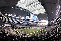 06 November 2011: Interior image of Cowboy Stadium, home to the Dallas Cowboys in Arlington, TX.