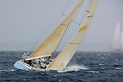 12 Meter Class Kookaburra II racing at Regates Royales
