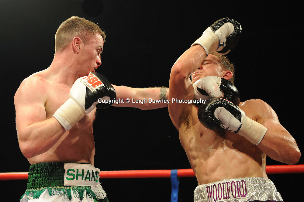Shane Normoyle defeats Vinny Woolford at Coventry Skydome, Coventry, United Kingdom on 23rd April 2010. Frank Maloney Promotions.Photo credit: © Leigh Dawney
