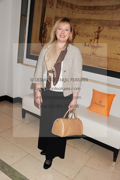 FFION HAGUE at the annual Veuve Clicquot Business Woman of the Year Award this year celebrating it's 40th year, held at Claridge's, Brook Street, London on 18th April 2012.