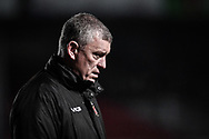 Head Coach Dean Ryan of Dragons<br /> <br /> Photographer Craig Thomas/Replay Images<br /> <br /> Guinness PRO14 Round 7 - Dragons v Zebre - Saturday 30th November 2019 - Rodney Parade - Newport<br /> <br /> World Copyright © Replay Images . All rights reserved. info@replayimages.co.uk - http://replayimages.co.uk
