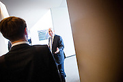 CEO Lloyd Blankfein at the Goldman Sachs headquarters in the Financial District of Manhattan.