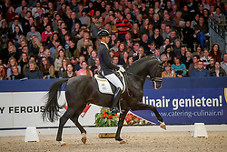 Minderhoud Hans Peter, NED, Dettori<br /> KWPN Stallionshow - 's Hertogenbosch 2018<br /> © Hippo Foto - Dirk Caremans<br /> 02/02/2018