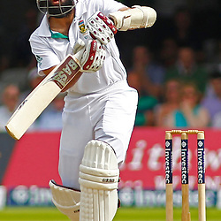19/08/2012 London, England. South Africa's Hashim Amla during the third Investec cricket international test match between England and South Africa, played at the Lords Cricket Ground: Mandatory credit: Mitchell Gunn