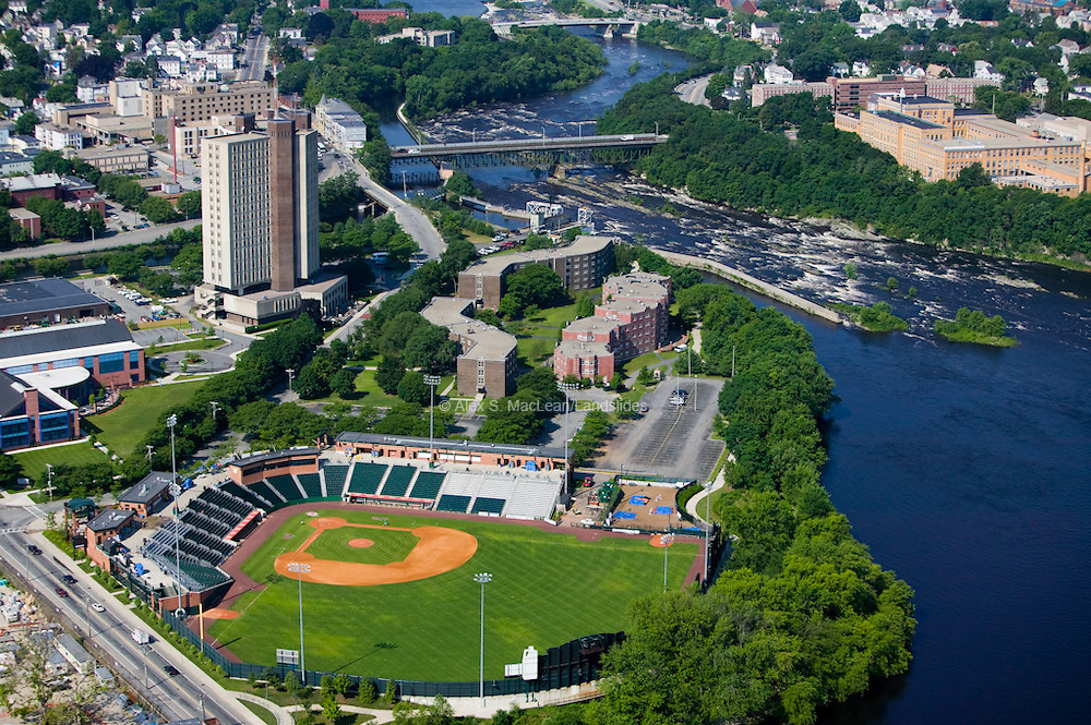 Edward A. LeLacheur Park is a baseball park located on the banks of the Merrimack River in Lowell, Massachusetts. It is home to the New York-Penn League Lowell Spinners, the Class A Short Season Affiliate of the Boston Red Sox. LeLacheur Park is also home to the University of Massachusetts Lowell River Hawks baseball team, which competes in the Northeast 10 Conference at the NCAA Division II level.