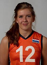 07-04-2014 NED: SELECTIE JONG ORANJE: ARNHEM<br /> Volleybalteam Jong Oranje / Tessa Polder<br /> ©2014-FotoHoogendoorn.nl
