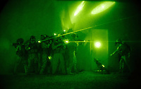 070626-N-6436W-001<br /> BAGHDAD, IRAQ --  U.S. Forces &quot;stack up&quot; to demonstrate entry tactics. Coalition and Iraqi forces together make up the Iraqi Counter Terrorism Force.<br /> U.S. Navy photo by Mass Communication Specialist 1st Class (Naval Air Crewman) Michael B.W. Watkins