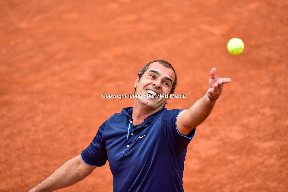 Cedric PIOLINE - 02.06.2015 - Jour 10 -Roland Garros 2015<br /> Photo : David Winter / Icon Sport
