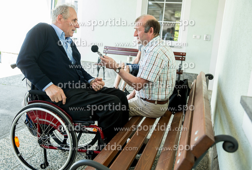 Joze Okoren at Media day of the National Paralympic Committee (NPC) of Slovenia and Primoz Jeralic, Slovenian paralympic rider, on May 26, 2016 in Novo mesto, Slovenia. Photo by Vid Ponikvar / Sportida