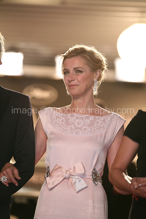 Anne Consigny arriving at the Vous N'Avez Encore Rien Vu gala screening at the 65th Cannes Film Festival France. Monday 21st May 2012 in Cannes Film Festival, France.