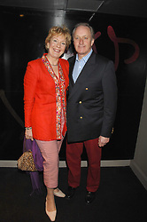 NEIL & CHRISTINE HAMILTON at a party to celebrate the 1st birthday of nightclub Kitts, 7-12 Sloane Square, London on 5th March 2008.<br /><br />NON EXCLUSIVE - WORLD RIGHTS