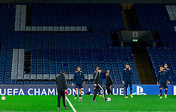 Team Maribor during practice session of NK Maribor 1 day before UEFA Champions League 2014/15 Match between FC Chelsea and NK Maribor, SLO, on October 20, 2014 in Stamford Bridge Stadium, London, Great Britain. Photo by Vid Ponikvar / Sportida.com